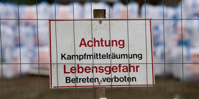 Zwei Bombenfunde in Hannover-Misburg