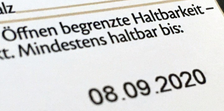 Was bedeutet das Mindesthaltbarkeitsdatum?  Antenne Niedersachsen