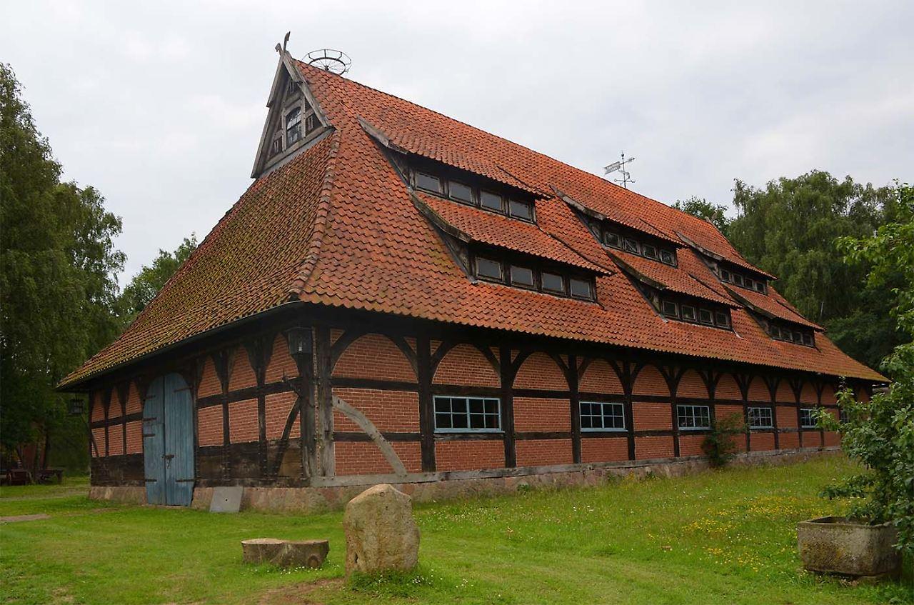 Die Zehntscheune im Neustädter Ortsteil Amedorf, Foto: Stadt Neustadt am Rübenberge