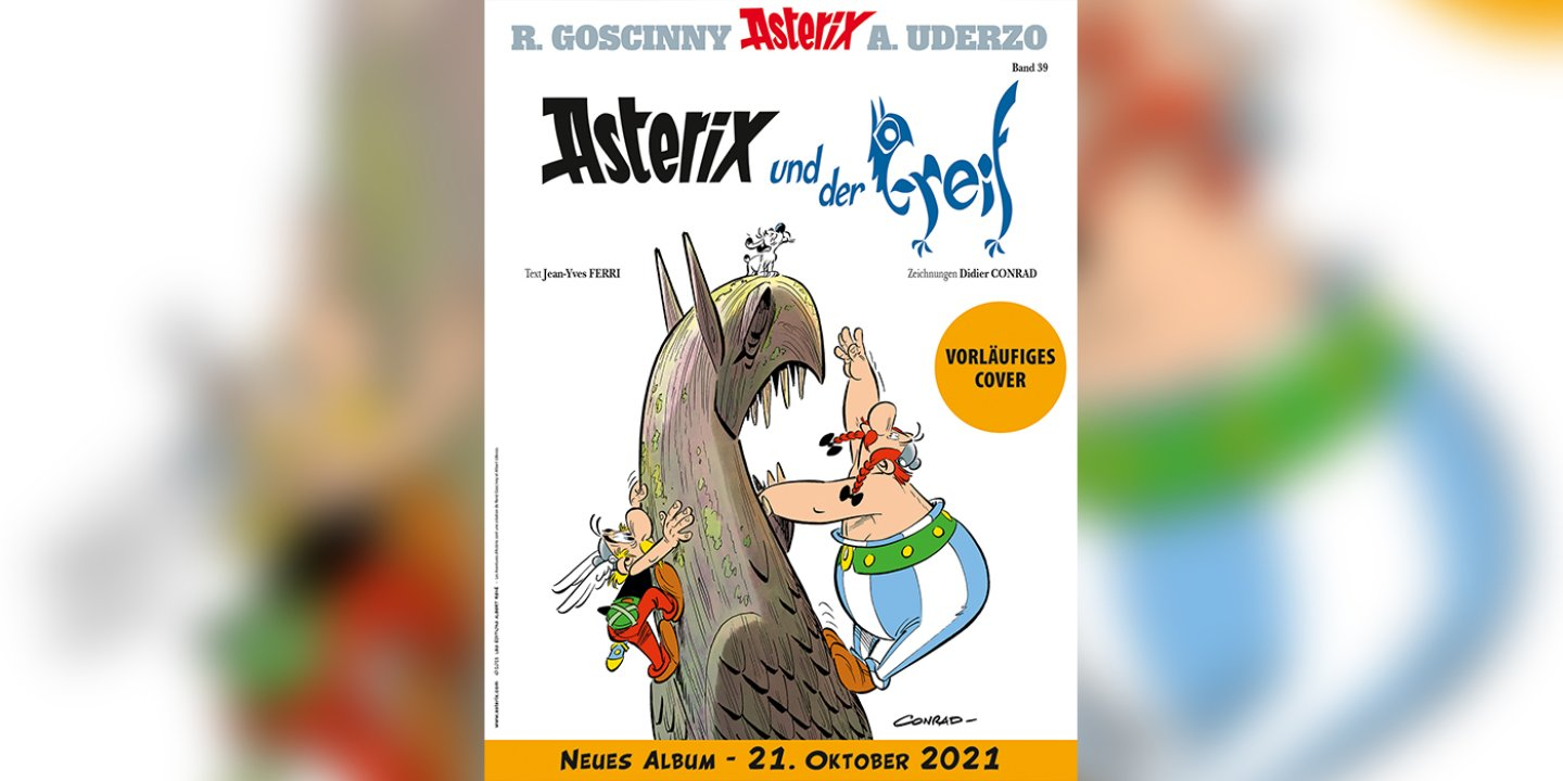picture alliance/dpa/ASTERIX®- OBELIX®- IDEFIX® / © 2021 LES EDITIONS ALBERT RENE