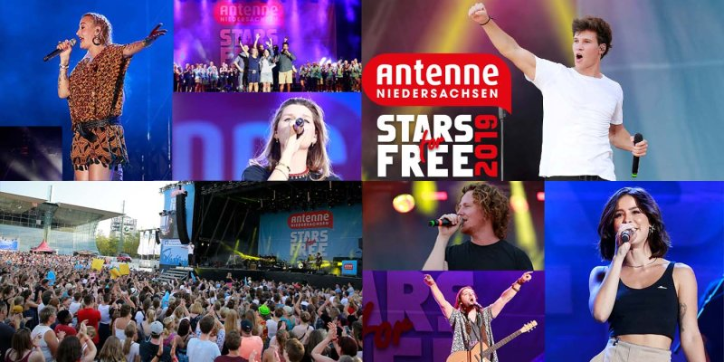 STARS for FREE 2019 - So mega war Stimmung!