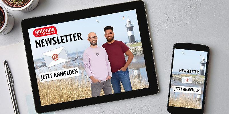 Jetzt Antenne Niedersachsen-Newsletter abonnieren!